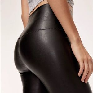 Wilfred faux leather high waist Daria legging